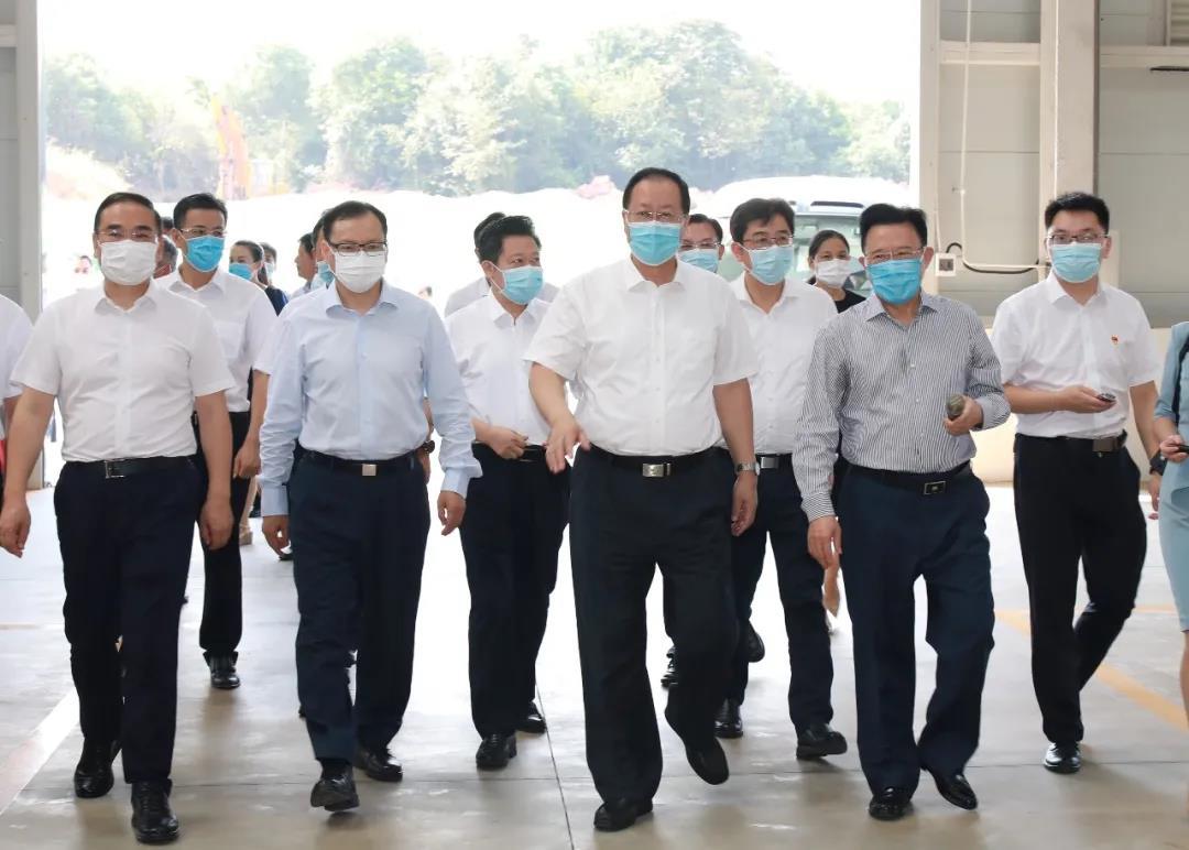 毛伟明省长勉励三一:带动全省先进制造业高质量发展